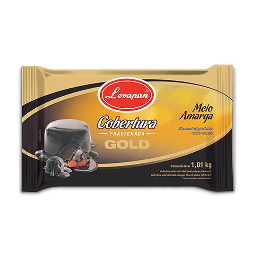 Cobertura Chocolate Semi Amargo Gold Levapan®