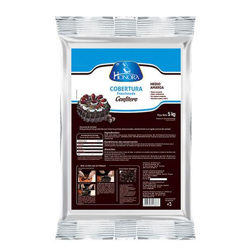 Cobertura Chocolate Semi Amargo Confitero Honora®