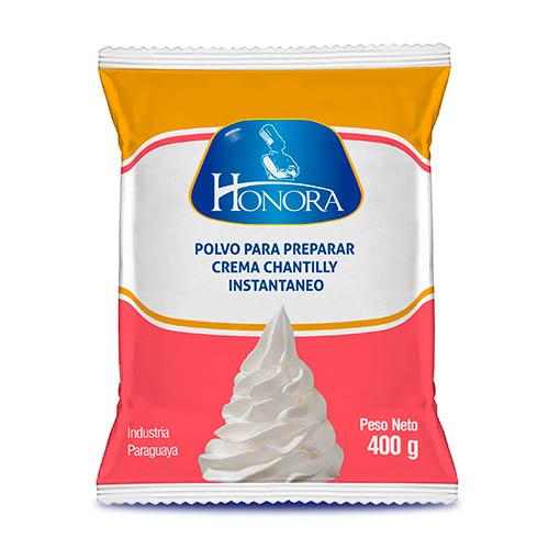 Crema chantilly en polvo instantáneo Honora®